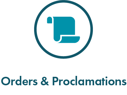 Orders and Proclamations