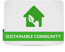 Sustainability-Community-Button