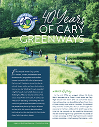 Cary Greenways Spread