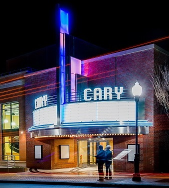 The Cary Theater Exterior
