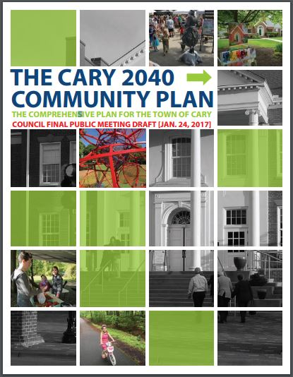 Cary Community Plan cover