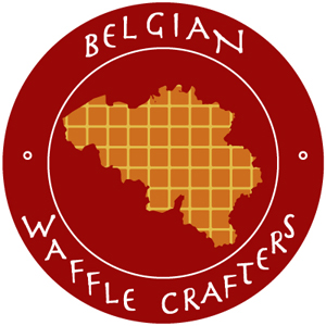Belgian Waffle Crafters Food Truck Logo