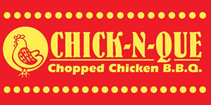 Chick-N-Que Food Truck Logo