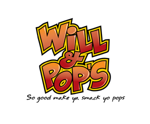 Will and Pops_ Food Truck Logo