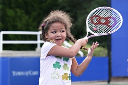 Junior Tennis Girl Player
