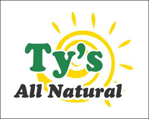 Ty's All Natural Logo