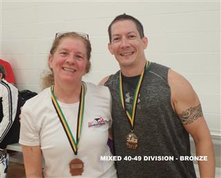 2017 Mixed 40-49 Division - Third (Mobile)