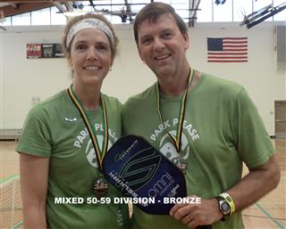 2017 Mixed 50-59 Division -Third (Mobile)