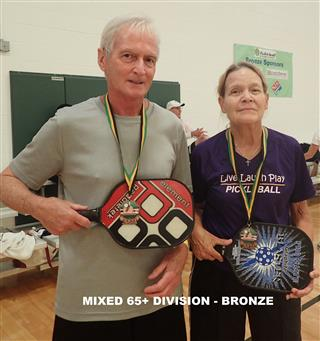 2017 Mixed 65+ Division - Third (Mobile)