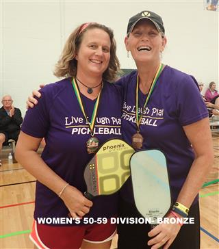 2017 Women's 50-59 Division - Third (Mobile)