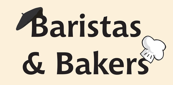 Baristas and Bakers Banner Graphic