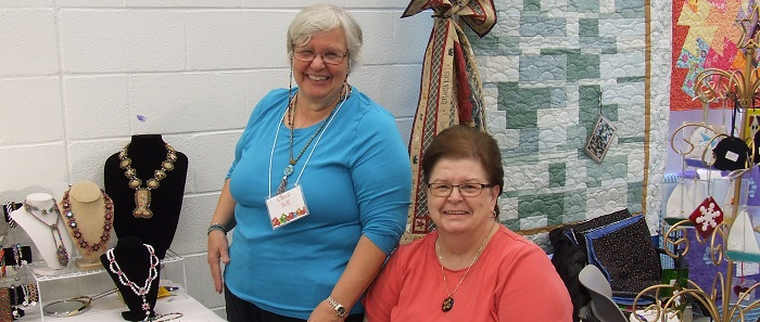 Vendors at the Holiday Arts and Crafts Fair