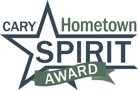 Nine Nominated for Cary's Hometown Spirit Award