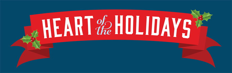 Heart of the Holidays Banner