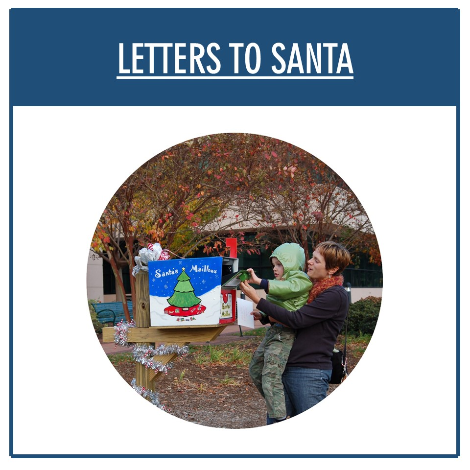 Letters to Santa Infographic