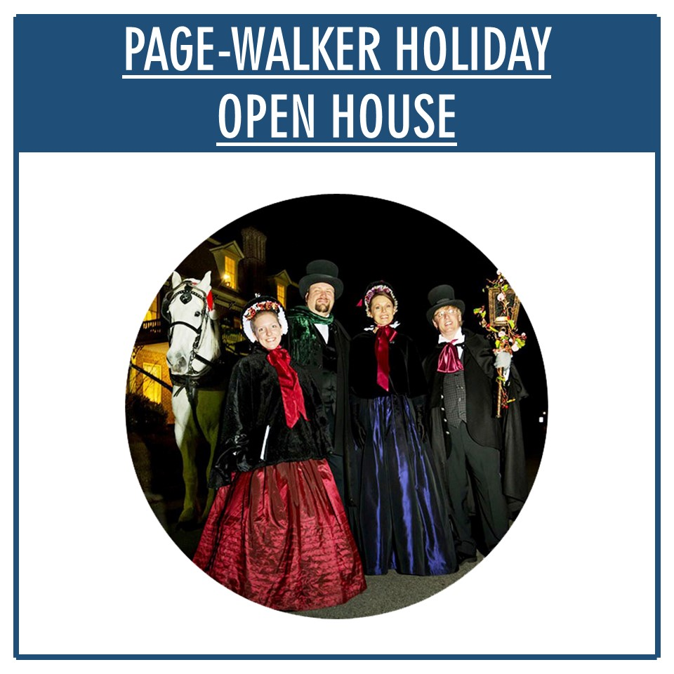 Page-Walker Holiday Open House Infographic