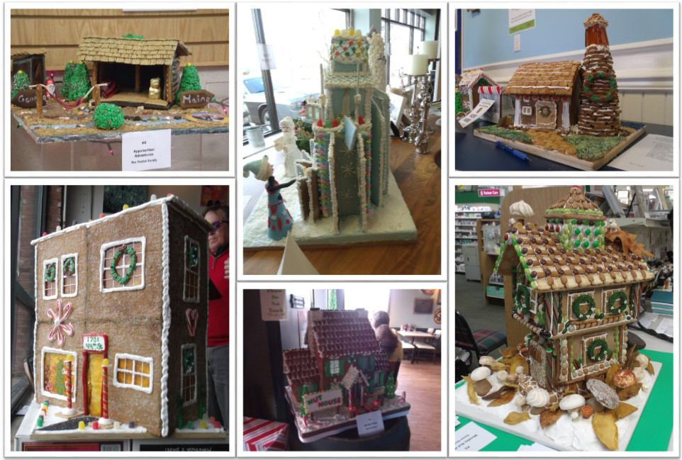 Gingerbread House Image Collage