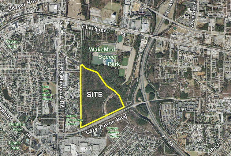 Fenton Mixed Use Development Proposed Area Map