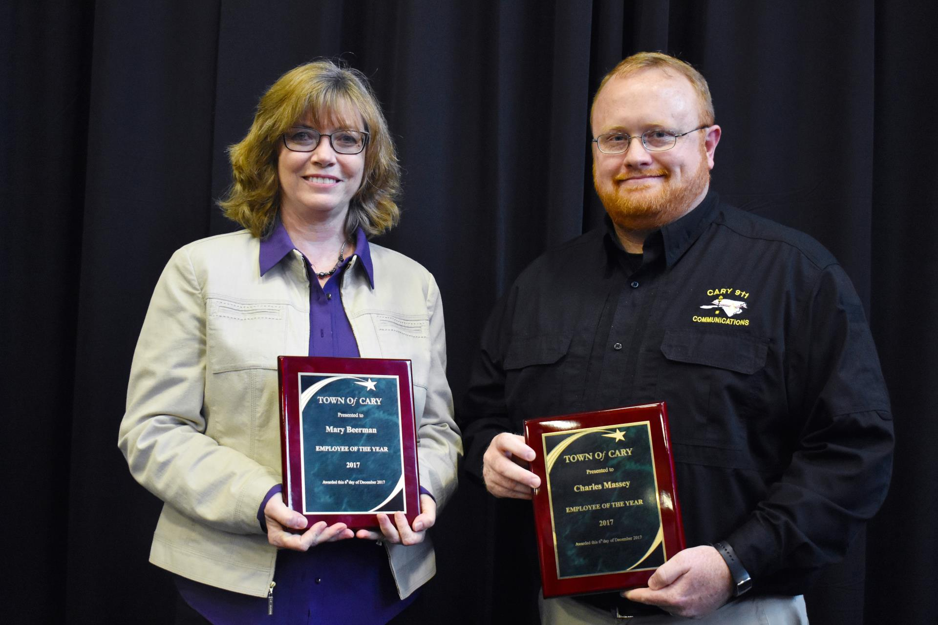 Dedication, Extra Effort Recognized with Cary's Employee of the Year Award