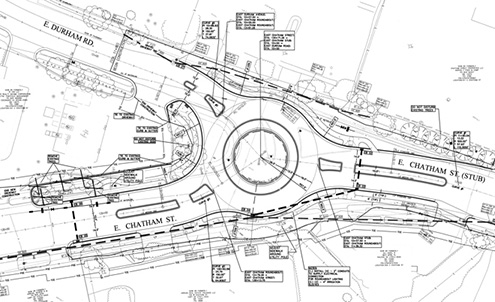 Downtown Roundabouts Plan
