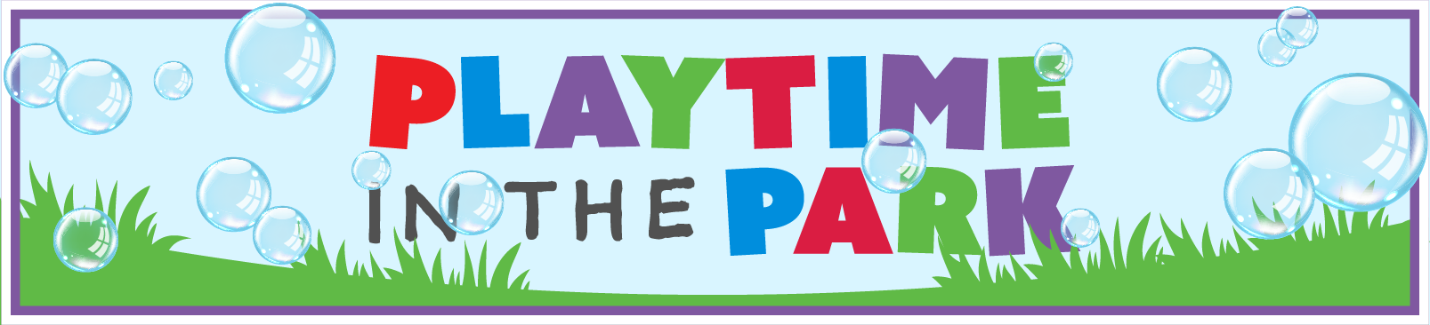 Playtime in the Park banner