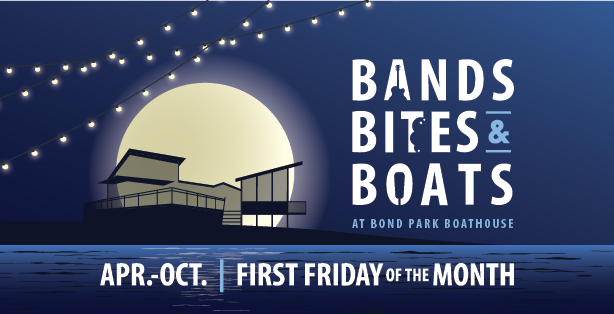 Bands, Bites and Boats logo