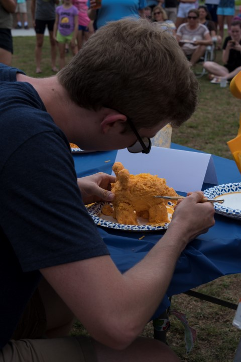 Pimento Cheese Sculpting