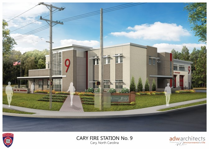Fire Station 9 rendering