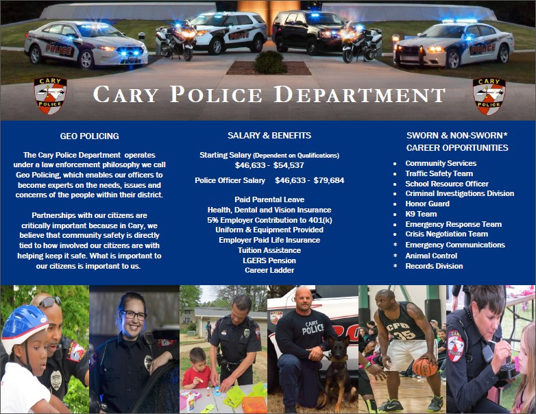 Recruitment | Town of Cary