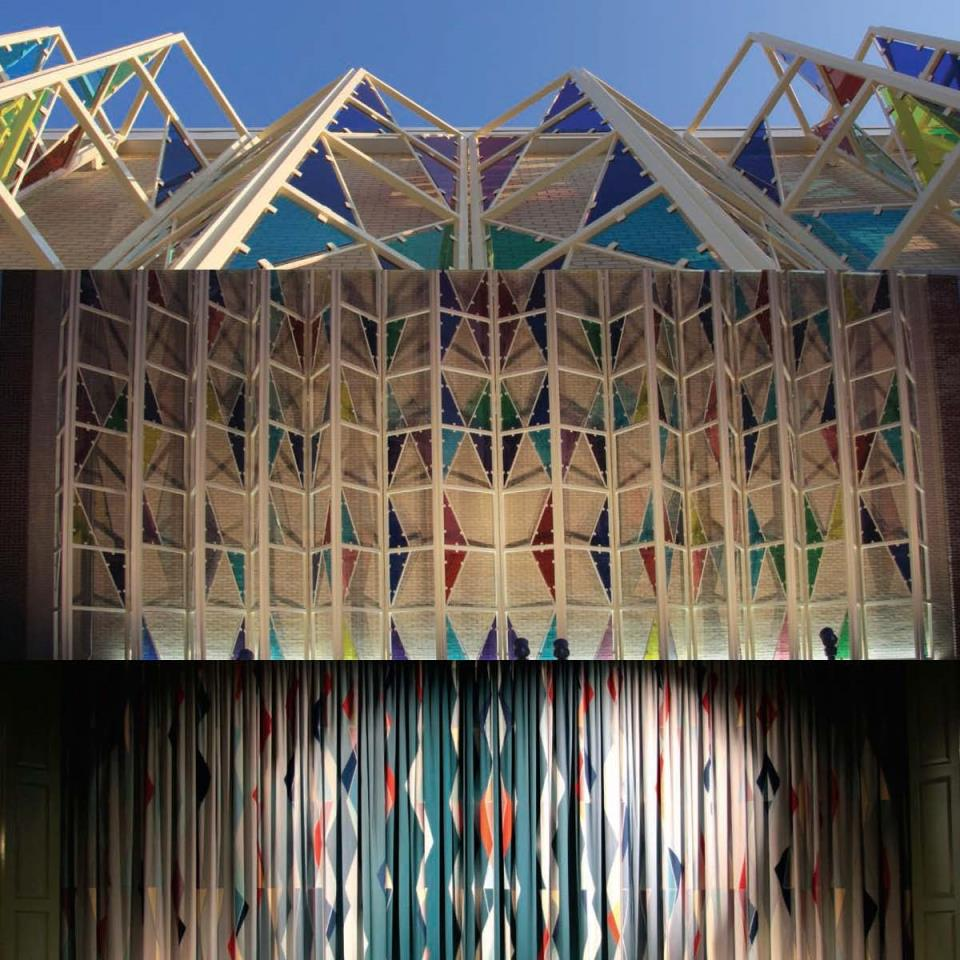 Public Art_curtain and fly tower