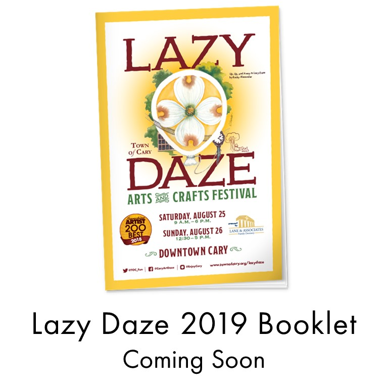 Lazy Daze 2019 Booklet Coming Soon