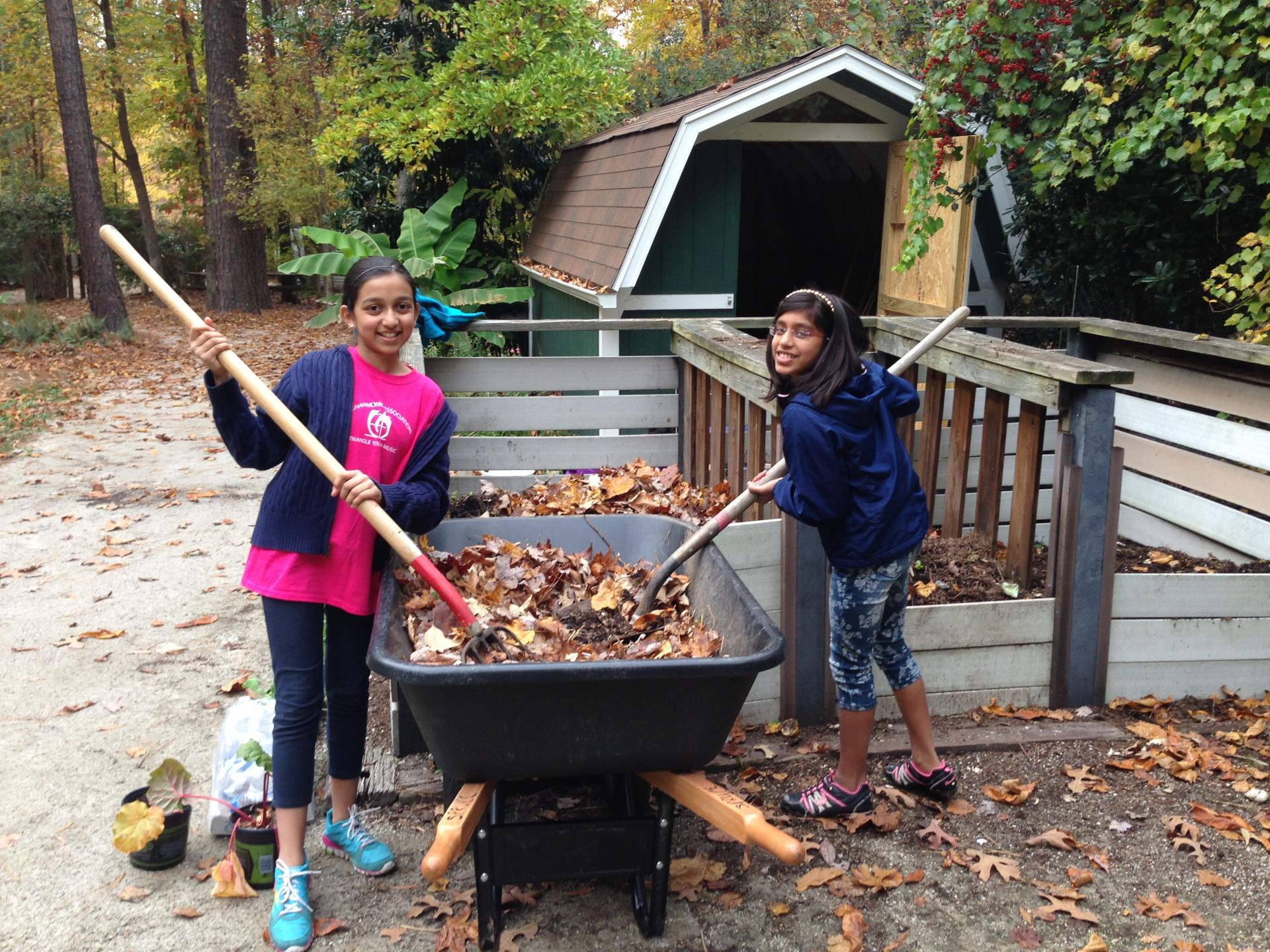 Explore recycling and composting projects through the Cary Green Neighborhood Program