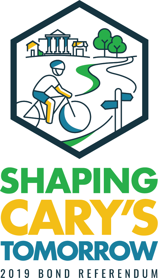 Shaping Cary's Tomorrow Bond Logo
