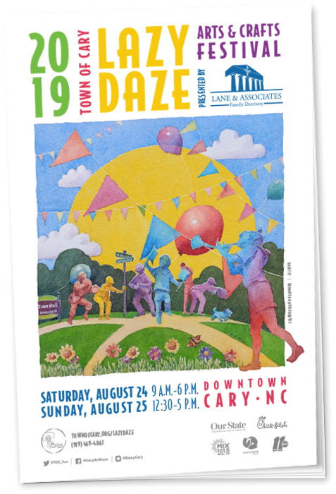Lazy Daze 2019 Booklet Cover