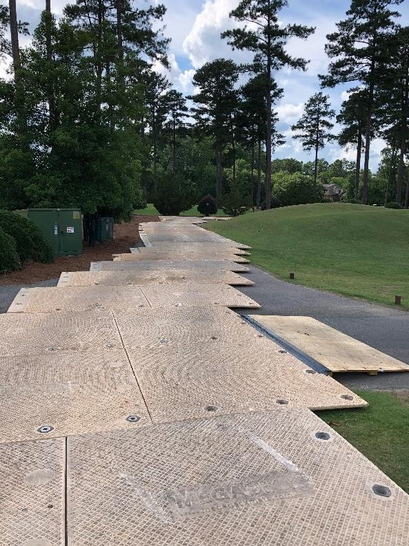 Prestonwood Golf Course Matting