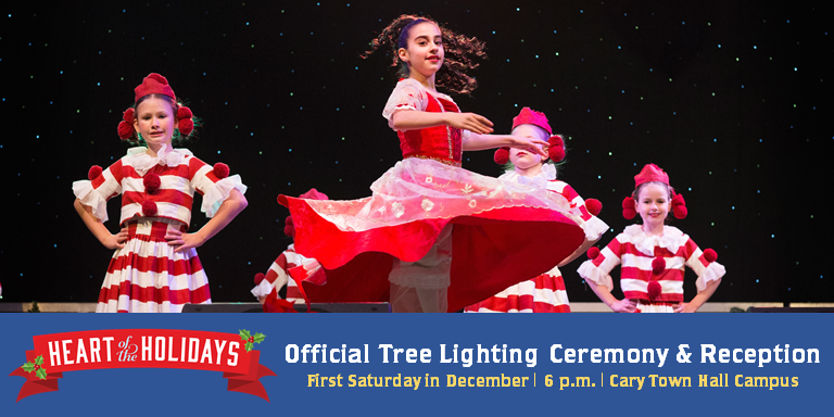 Cary's Official Tree Lighting Ceremony