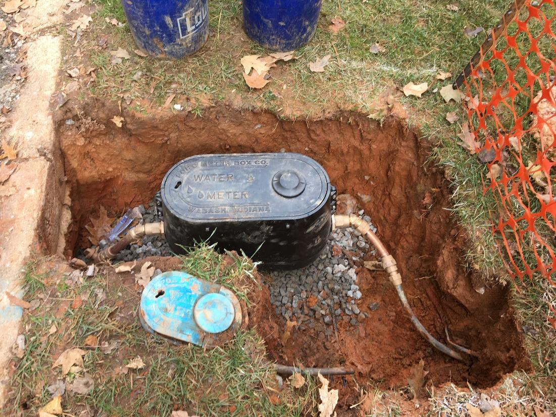 Step 4 - new water meter 3