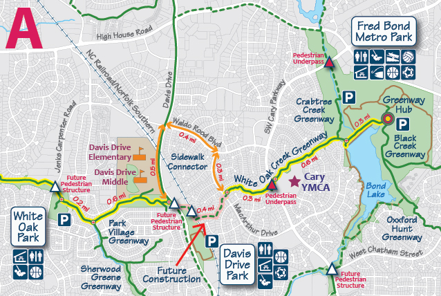 White Oak Creek Greenway | Town of Cary on