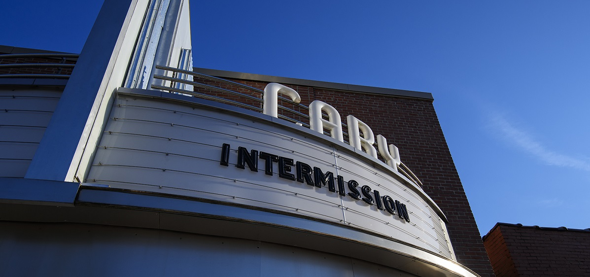 Cary Theater Marquee