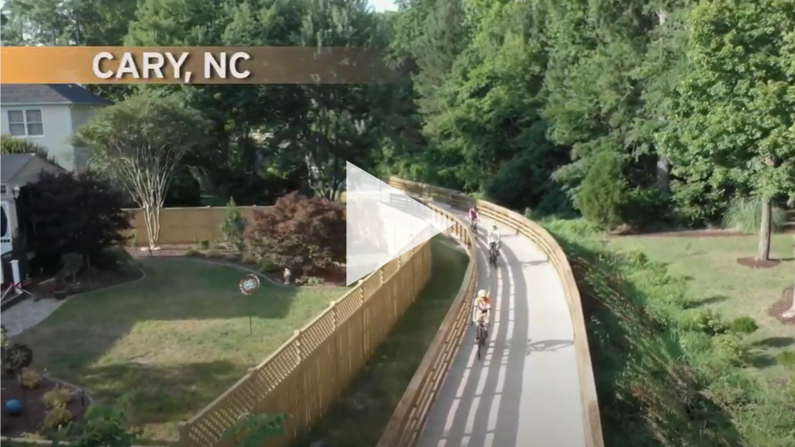 NC Weekend: Cary Greenways Screencap