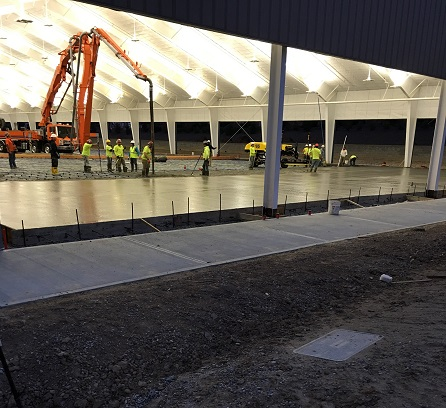 CTP - Covered Court Concrete Pouring