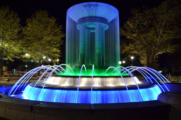 Downtown Park Fountain