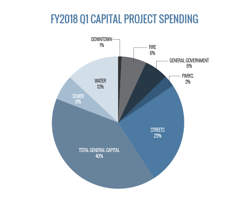 FY2018 Q1 Capital Project Spending