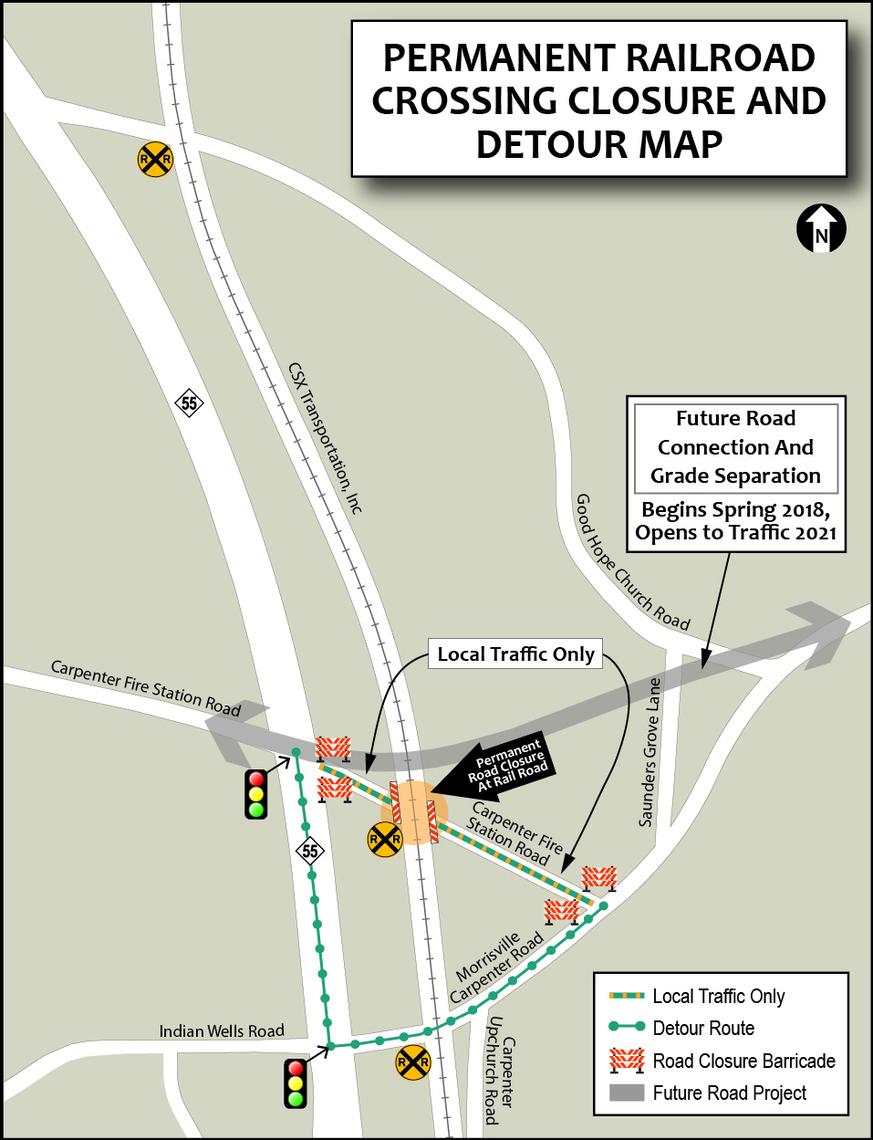 Carpenter Fire Station Road Bridge And Intersection Improvements