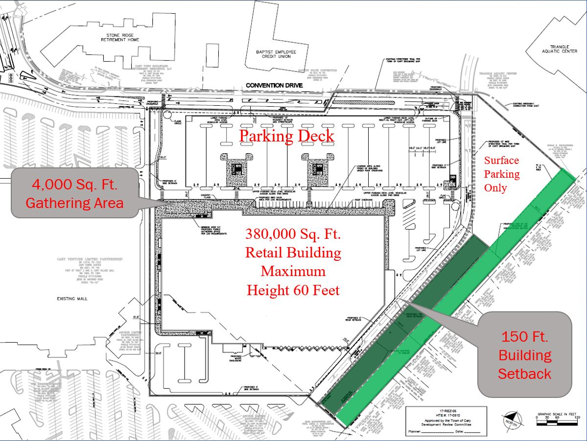 Cary Towne Center Map Cary Towne Center Redevelopment, Phase I (IKEA) | Town of Cary