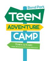 teen adventure camp signs (Custom)