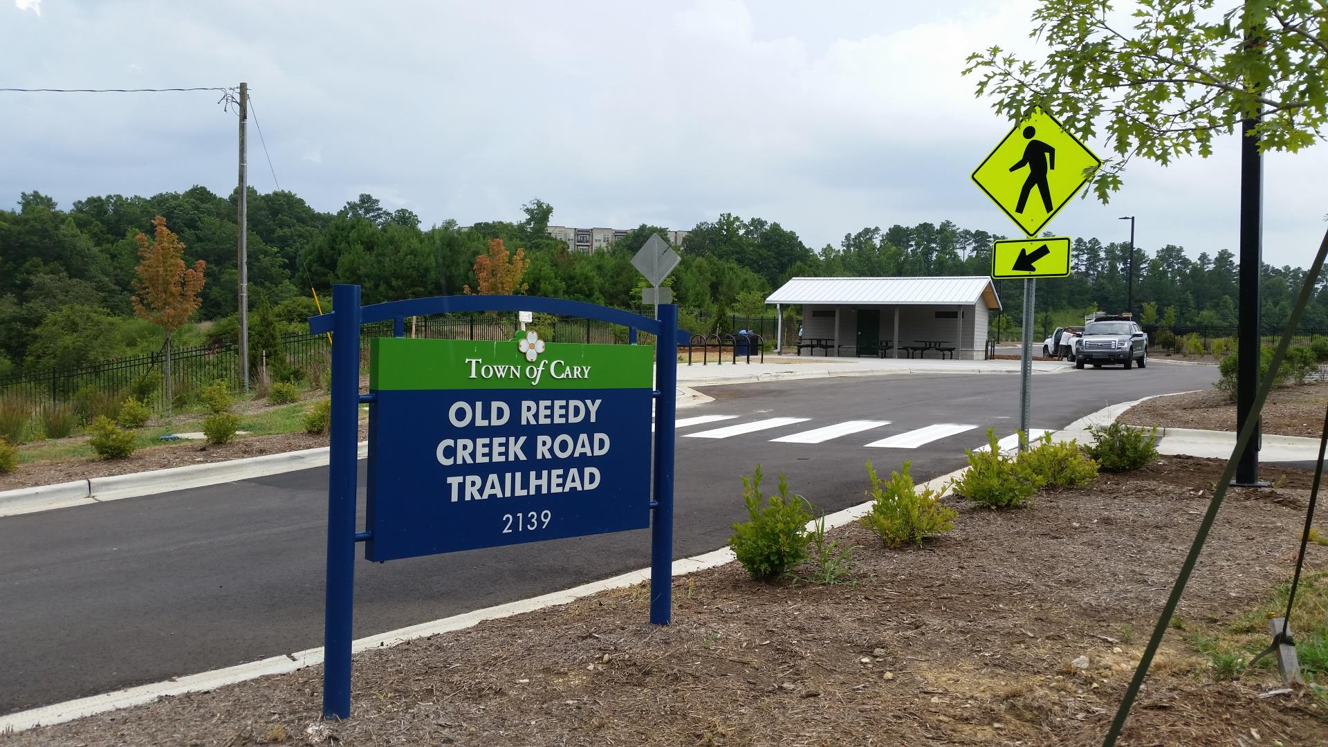 Old Reedy Creek Road Trailhead